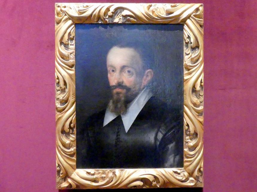 Hans von Aachen: Portrait eines Mannes (Johannes Keppler ?), Undatiert