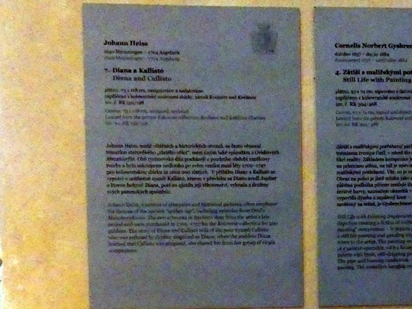 Johann Heiss: Diana und Kallisto, Undatiert, Bild 2/2