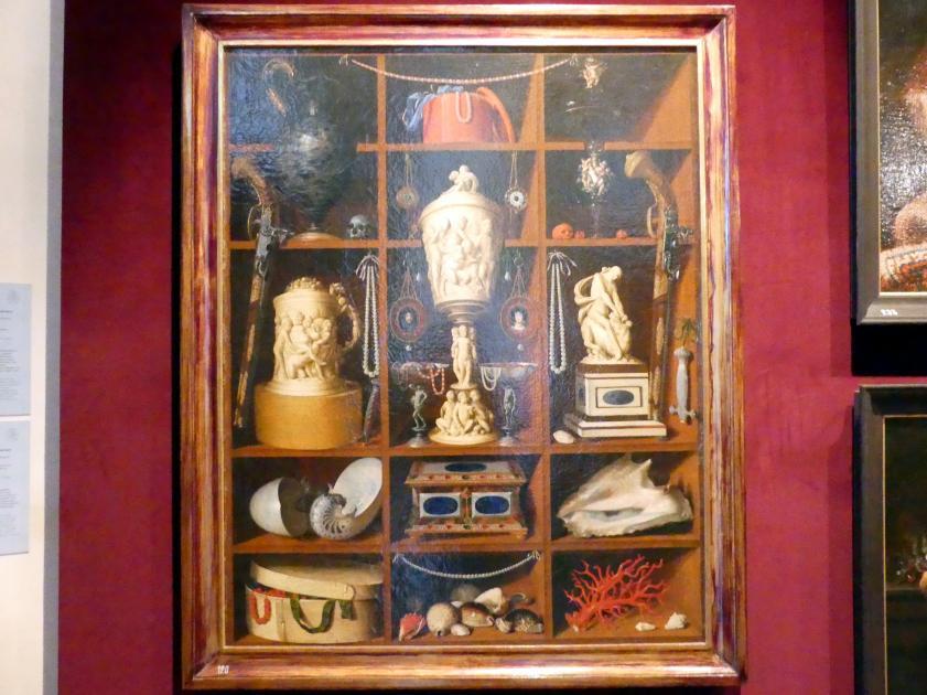 Georg Hinz: Regal mit Antiquitäten, 1666