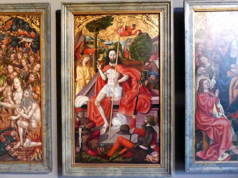 Hans Raphon: Passionsaltar, 1499, Bild 18/19