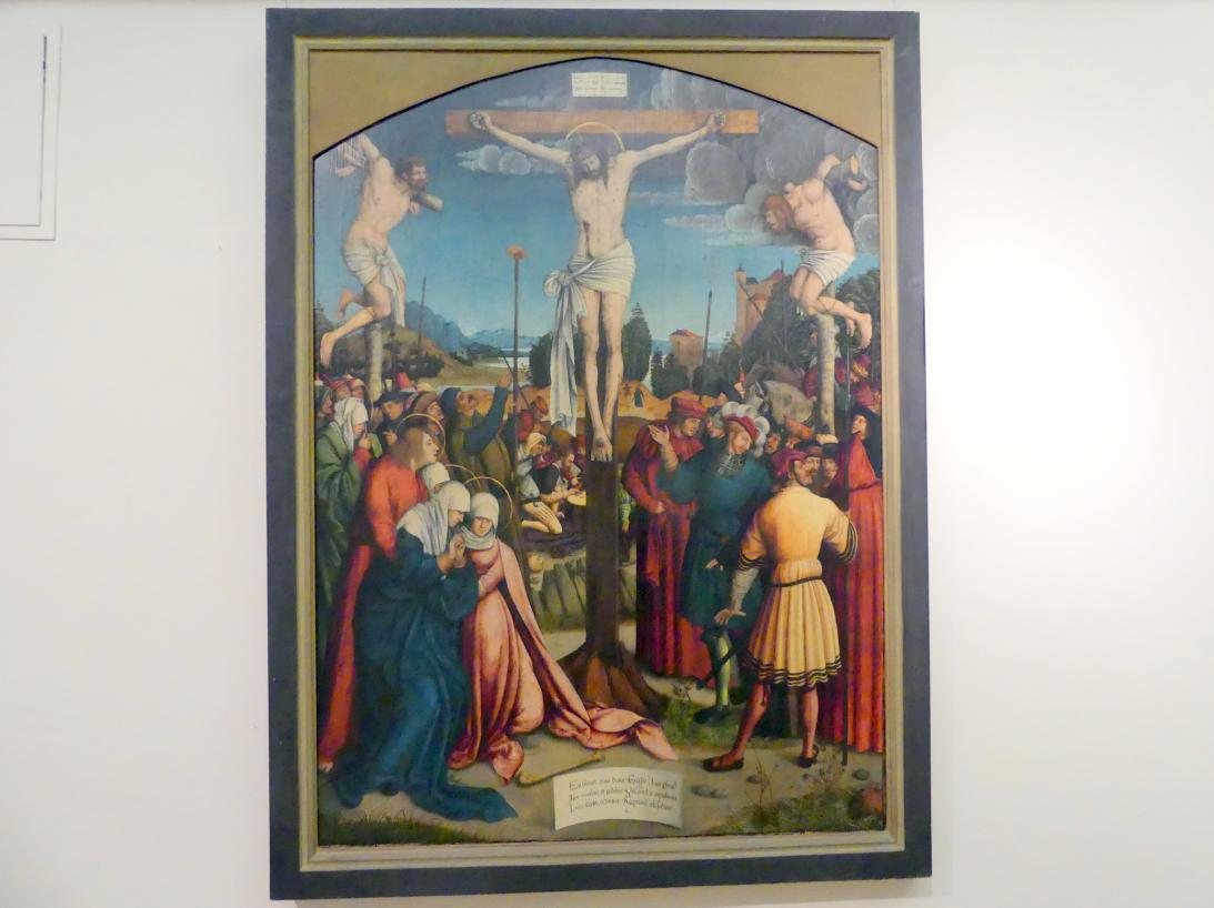 Bernhard Strigel: Kreuzigung Christi, nach 1515