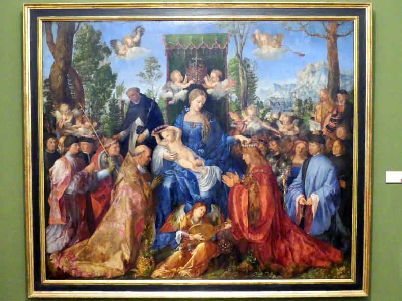 Albrecht Dürer: Das Rosenkranzfest, 1506