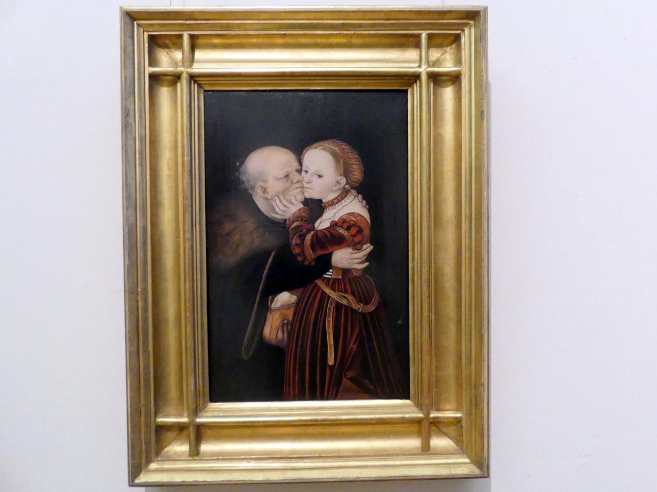 Lucas Cranach der Ältere: Das ungleiche Paar, um 1530