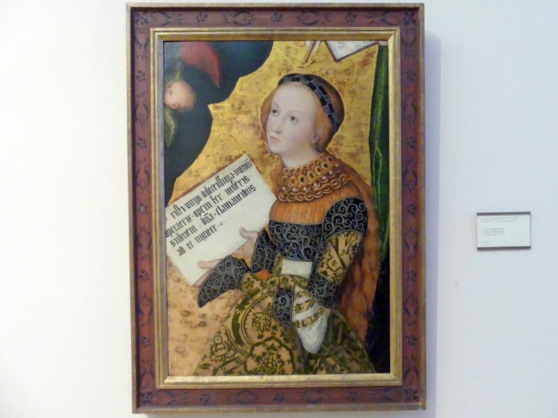 Lucas Cranach der Ältere: Hl. Christina, um 1520 - 1522
