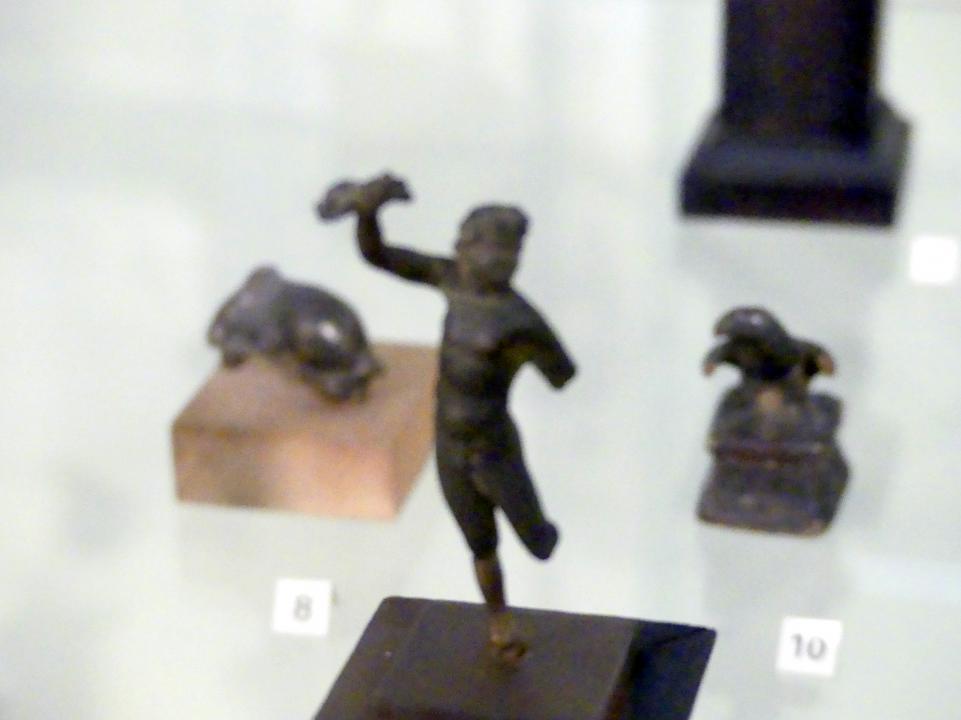 Römische Bronzefigur: Junger Satyr, 1. Jhd.