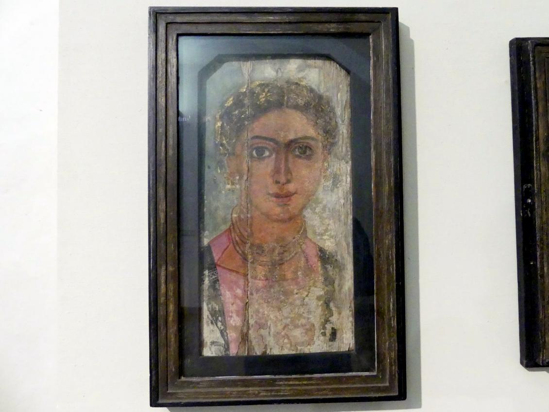 Portrait eines Mädchens, Mitte 4. Jhd.
