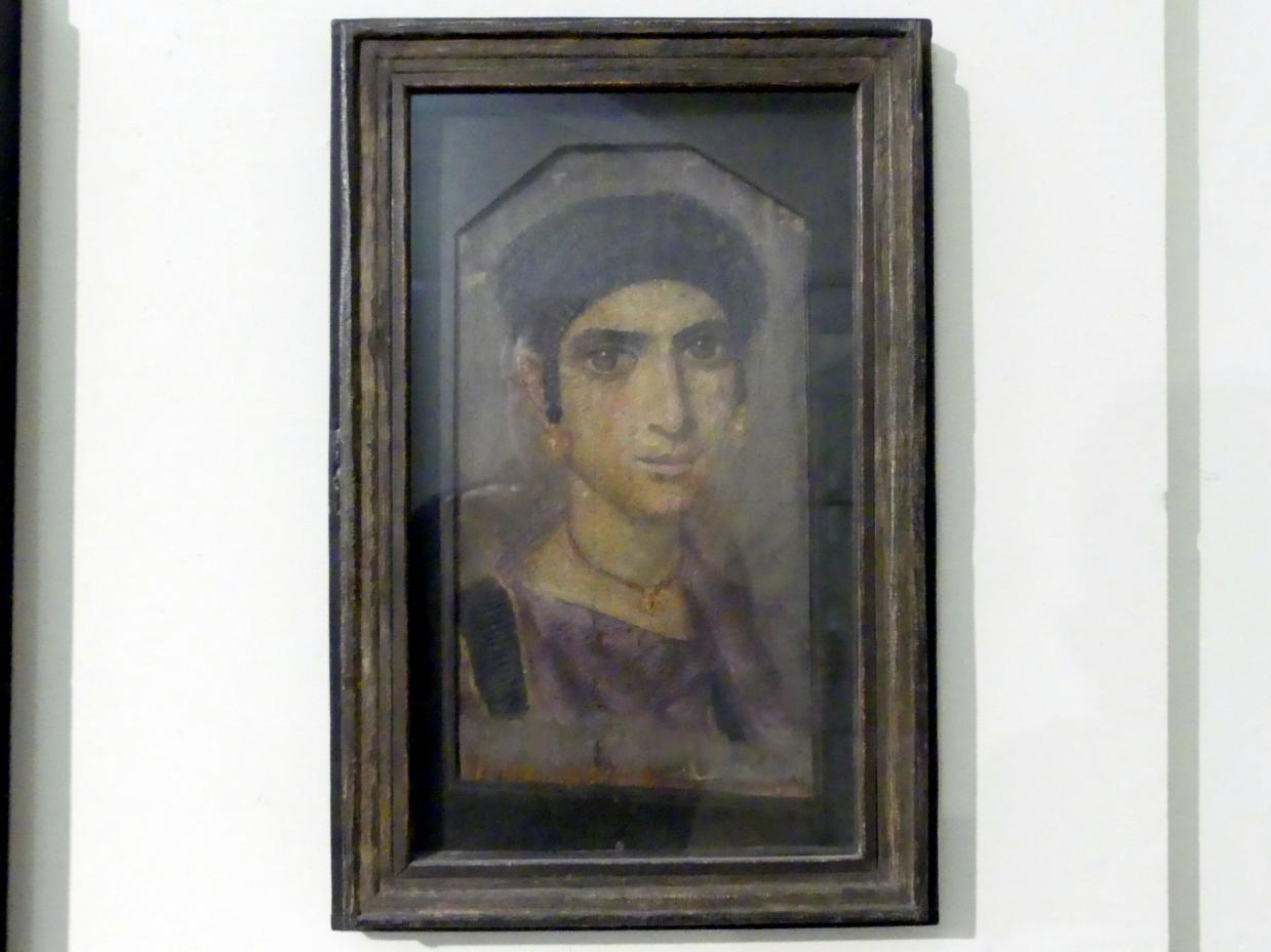Portrait einer jungen Frau, 2. Hälfte 2. Jhd.