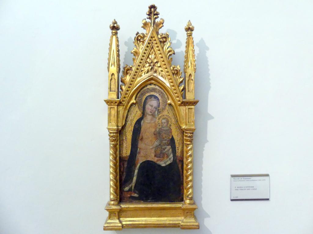Niccolò di Tommaso: Maria mit Kind, Undatiert