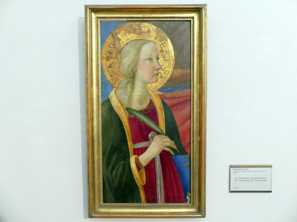 Cosimo Rosselli: Hl. Katharina von Alexandrien, Undatiert