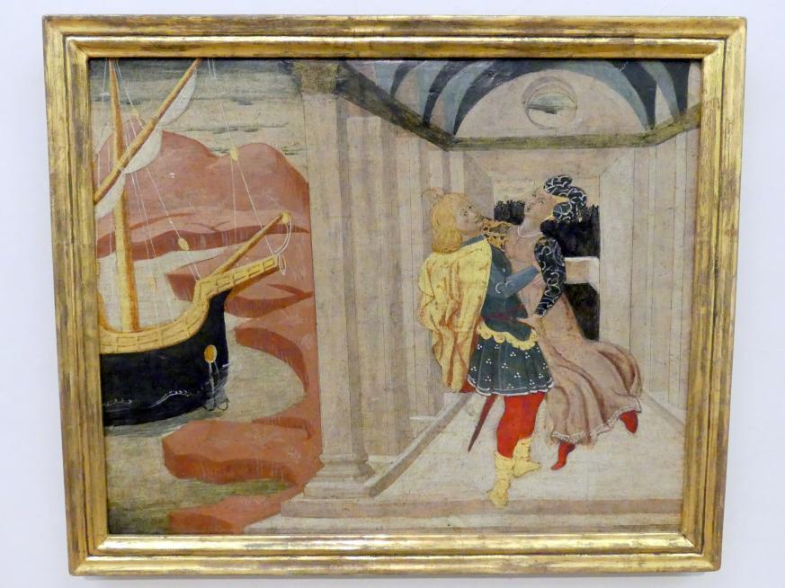 Antonfrancesco di Giovanni dello Scheggia: Raub der Helena, Undatiert