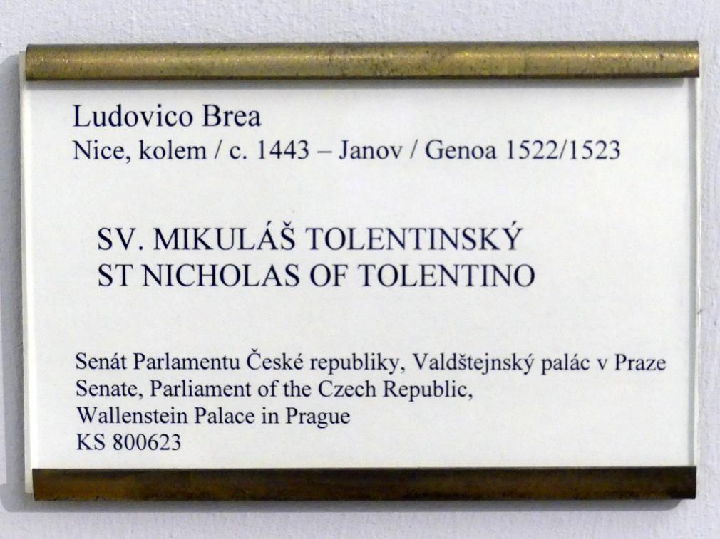 Ludovico Brea: Hl. Nikolaus von Tolentino, Undatiert, Bild 2/3