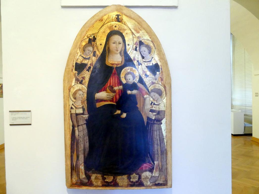 Andrea di Giusto: Maria mit Kind und Engeln, Undatiert, Bild 1/2