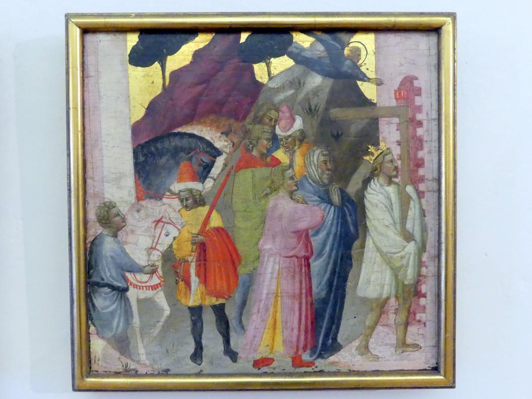 Meister der Madonna Straus: Einzug des Heraclius nach Jerusalem, Undatiert