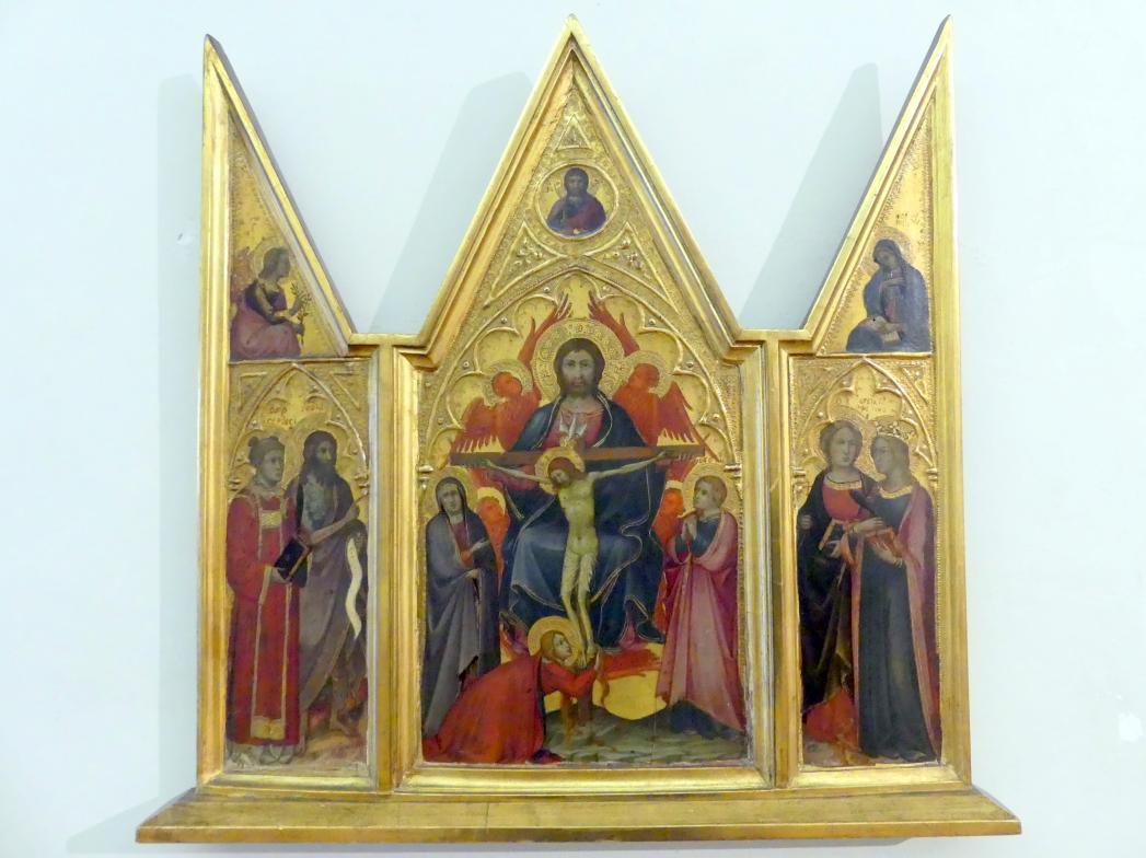 Andrea di Bartolo: Triptychon der Heiligen Dreifaltigkeit, Undatiert