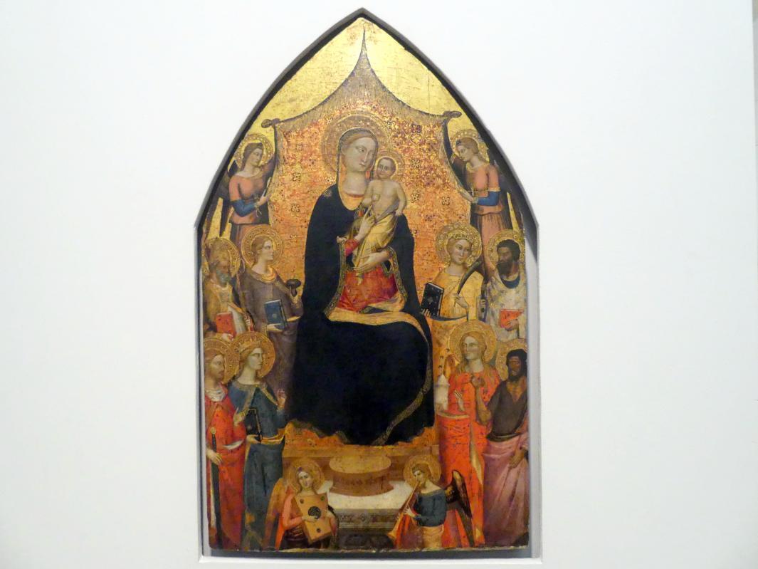 Jacopo di Cione (Umkreis): Thronende Madonna mit Kind, Undatiert