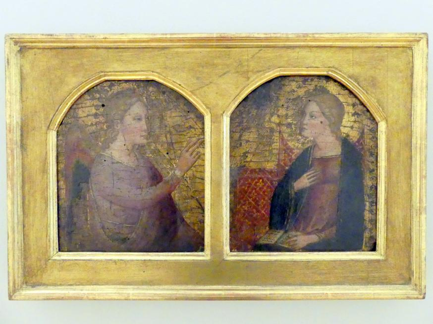 Cenni di Francesco di ser Cenni: Mariä Verkündigung (Fragment), Undatiert