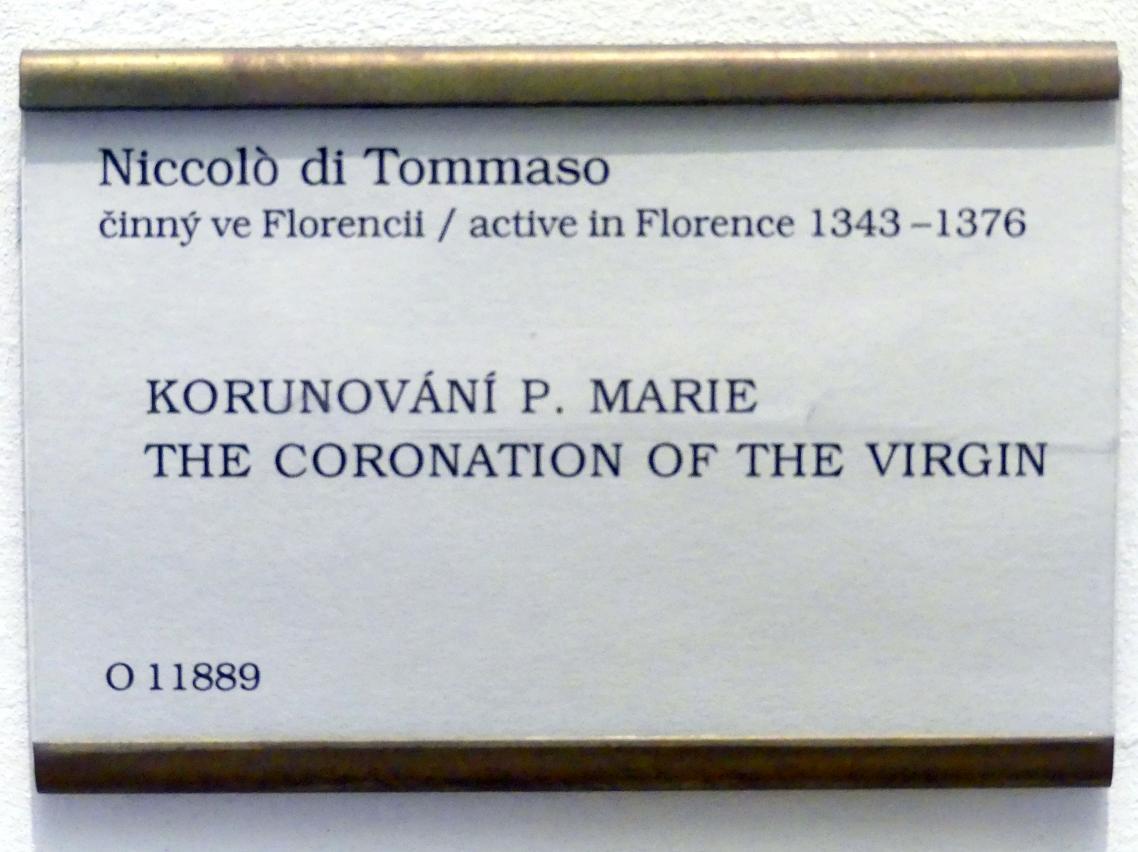 Niccolò di Tommaso: Krönung Mariens, Undatiert, Bild 2/2