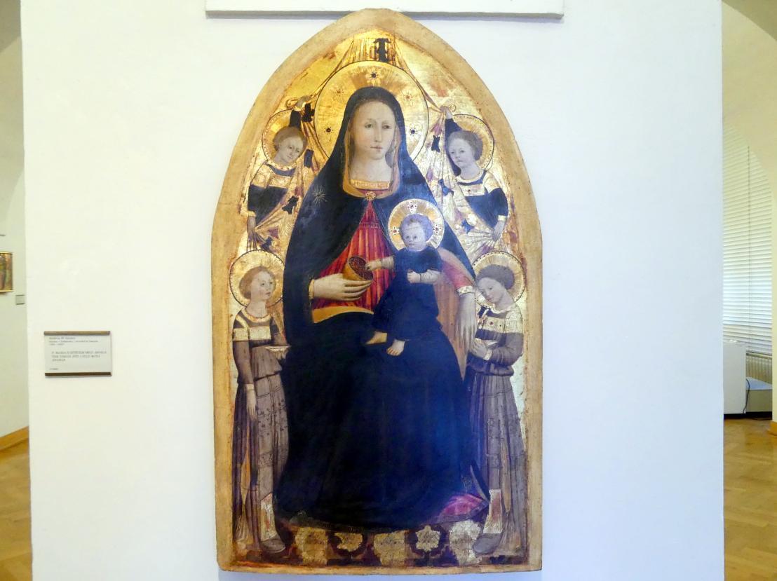 Andrea di Giusto: Maria mit Kind und Engeln, Undatiert