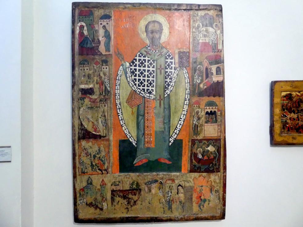 Szenen aus dem Leben des hl. Nikolaus der Thaumaturg, Um 1480 - 1520