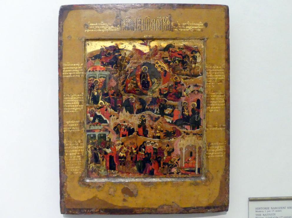 Szenen aus der Zeit der Geburt Christi, 1. Hälfte 17. Jhd.