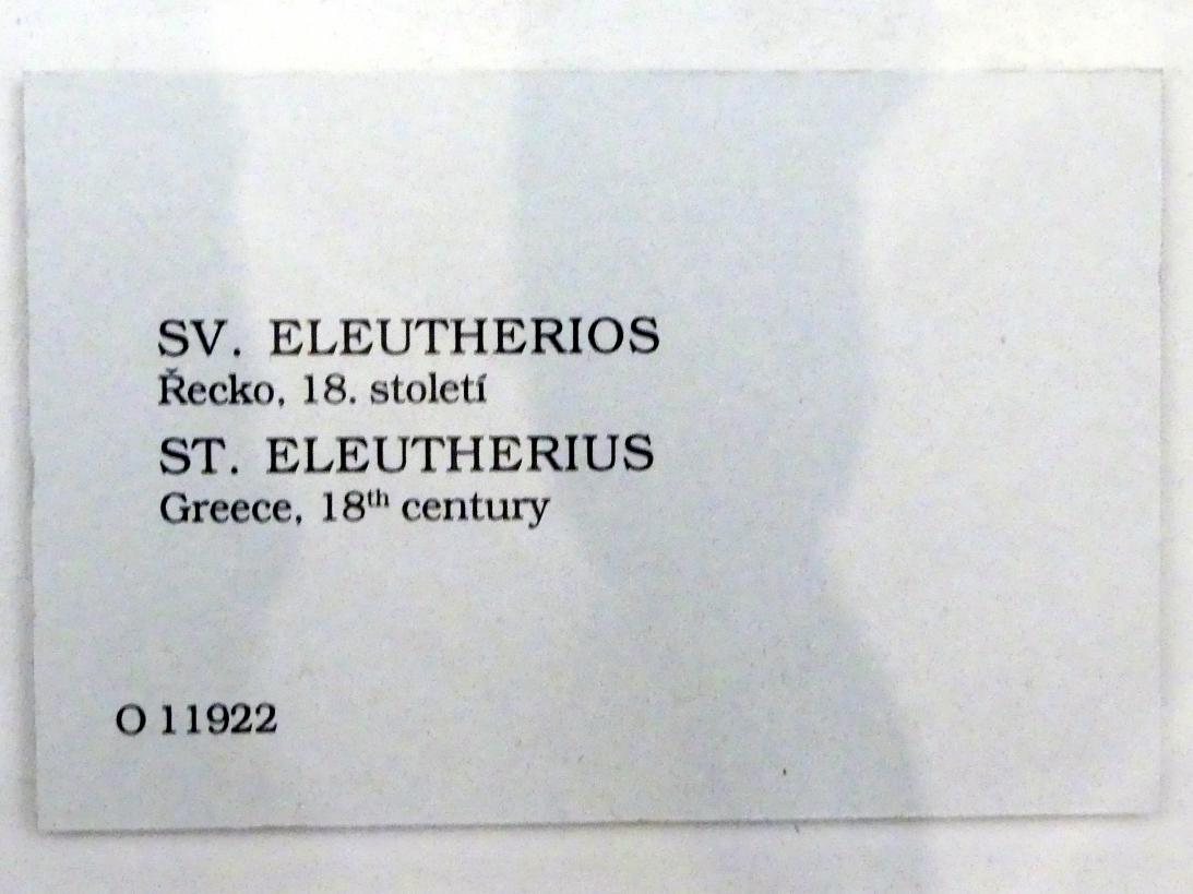 Hl. Eleutherius, 18. Jhd., Bild 2/2