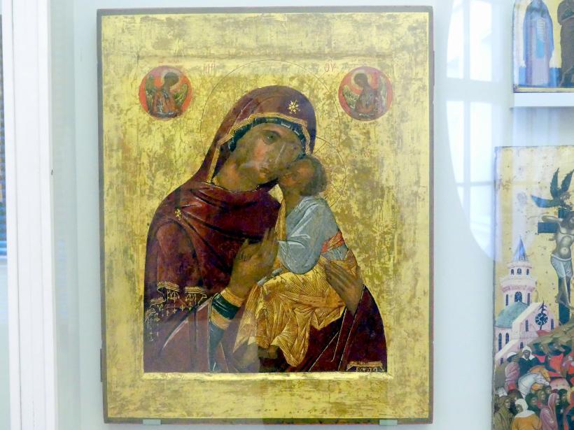 Meister aus Konstantinopel: Muttergottes (Glykophilusa), Um 1400
