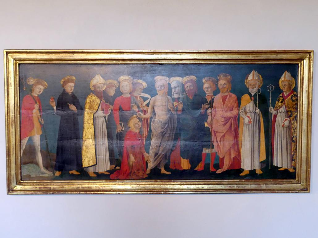 Piero della Francesca (Nachfolger): Noli me tangere, Undatiert