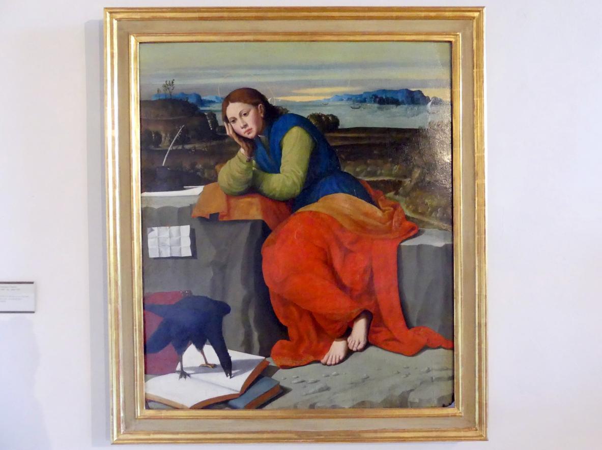 Giovanni Francesco Caroto: Der Hl. Johannes auf Patmos, Undatiert