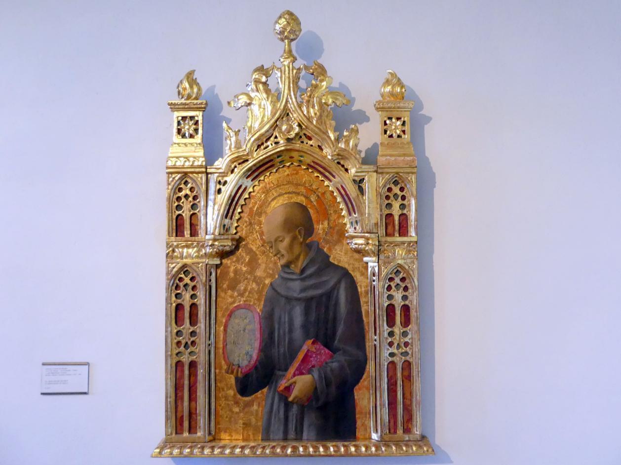Antonio Vivarini (Antonio da Murano): Der hl. Bernhardin von Siena, Undatiert