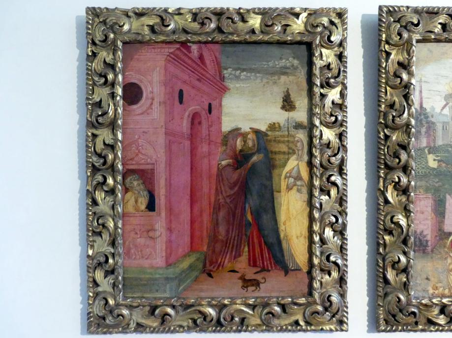 Jacopo da Montagnana: Mariä Heimsuchung, Undatiert