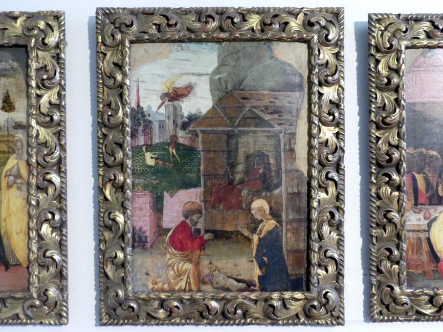 Jacopo da Montagnana: Anbetung des Christkindes, Undatiert