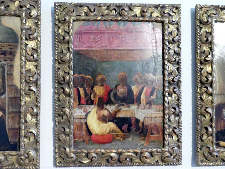 Jacopo da Montagnana: Das letzte Abendmahl, Undatiert