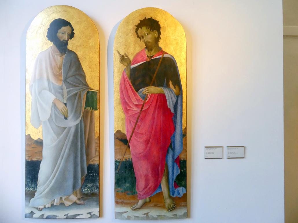 Paolo da Visso (Paolo di Giovanni da Visso): Johannes der Täufer, Undatiert
