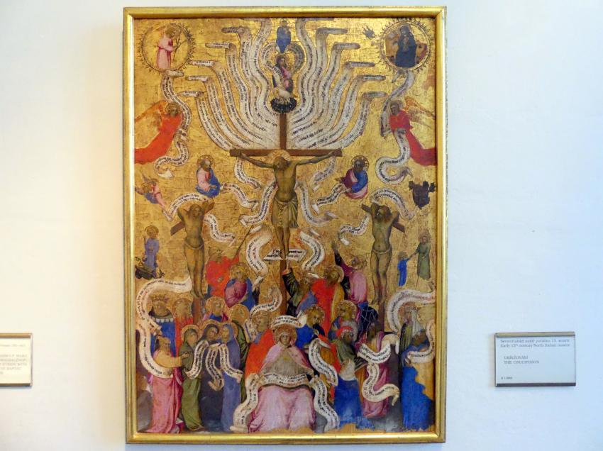 Kreuzigung Christi, Beginn 15. Jhd.