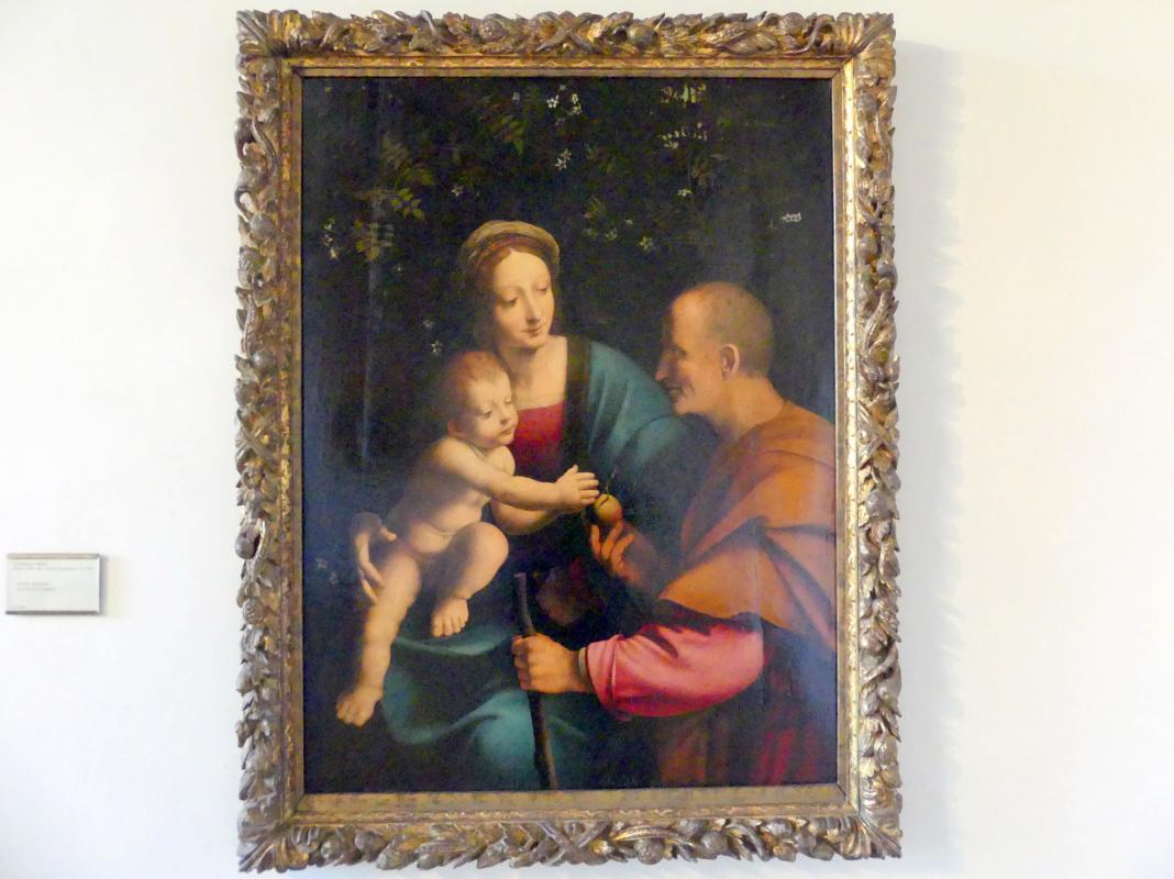 Francesco Melzi: Die Heilige Familie, Undatiert