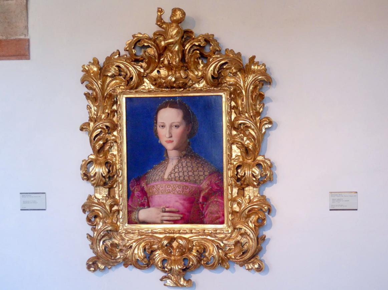Agnolo di Cosimo di Mariano (Bronzino): Eleonora von Toledo (1522–1562), Undatiert