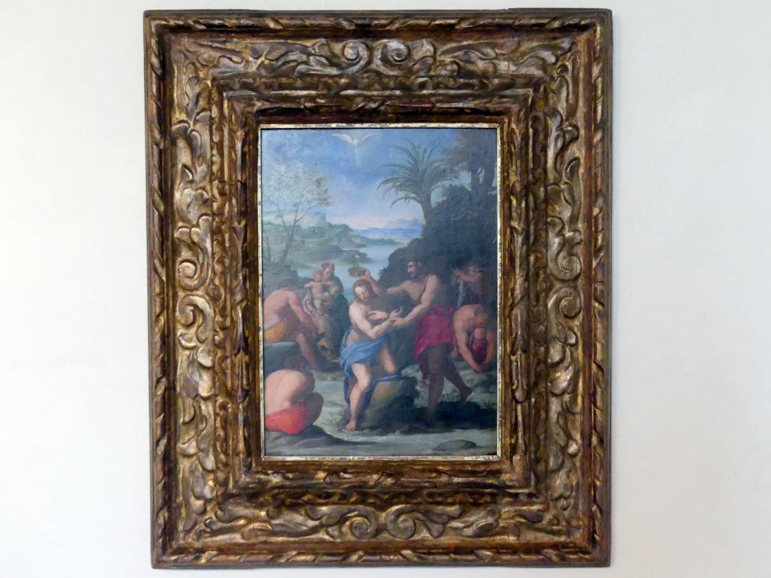 Alessandro Allori: Taufe Christi, um 1570