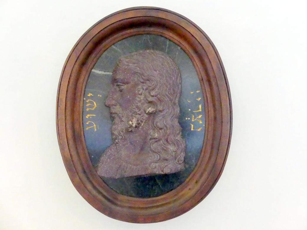 Francesco del Tadda (Francesco Ferrucci): Relief mit dem Kopf Jesu, 1560