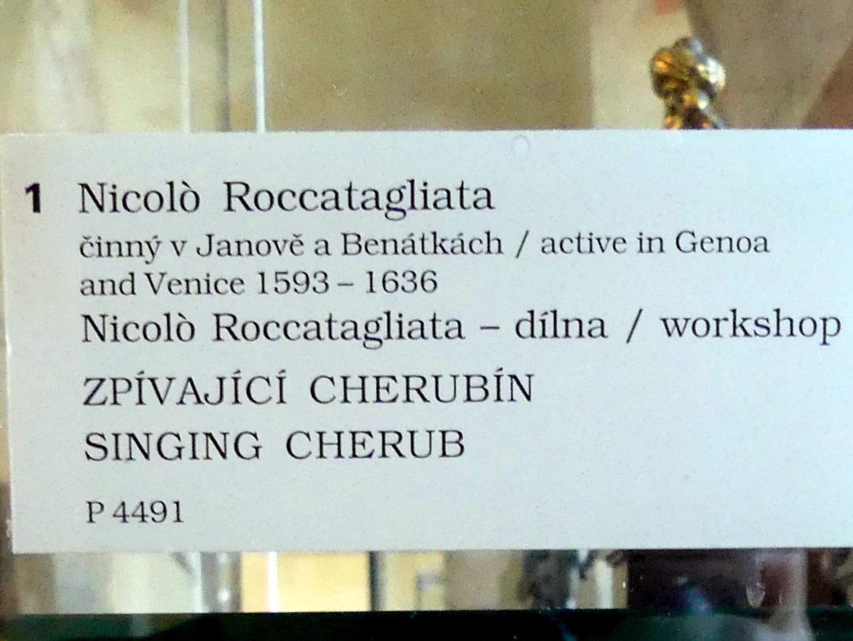 Niccolò Roccatagliata (Werkstatt): Singender Kerubim, Undatiert, Bild 3/3
