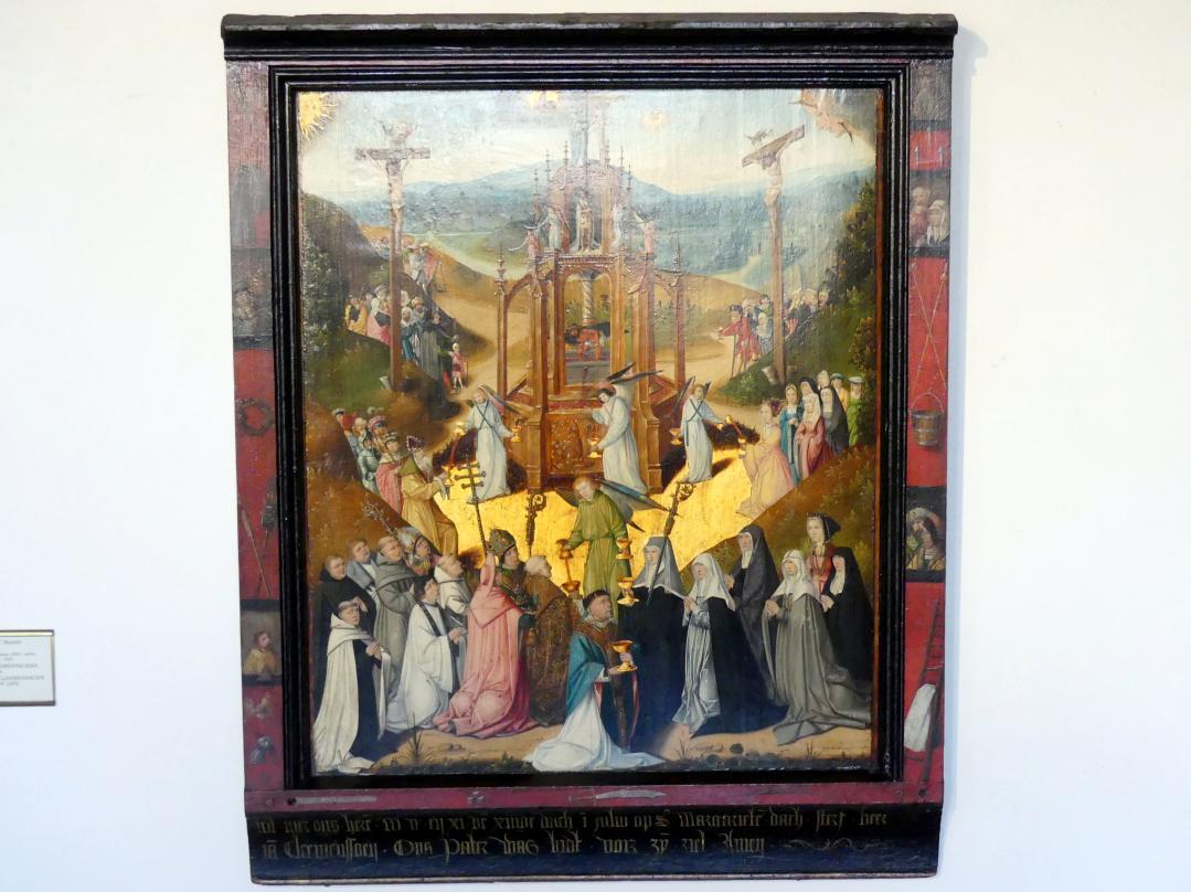 Meister des Lebensbrunnens: Epitaph des Jan Cleemenssoen mit dem Lebensbrunnen, 1511