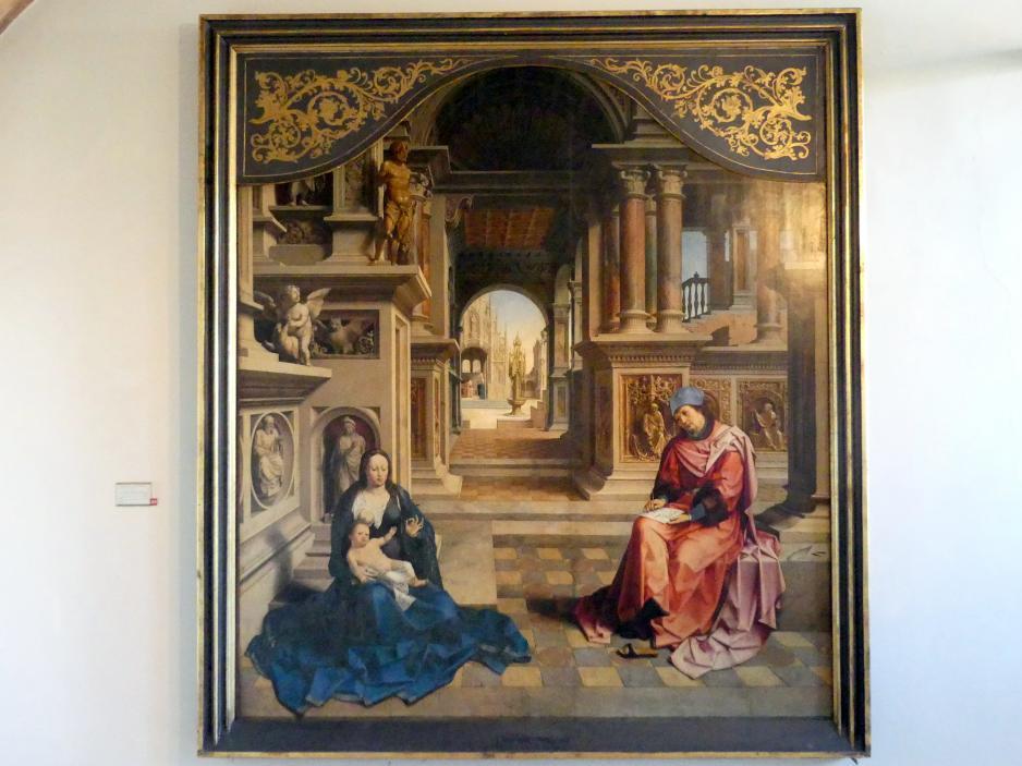 Jan Gossaert, genannt Mabuse: Der Hl. Evangelist Lukas malt die Jungfrau Maria, Undatiert
