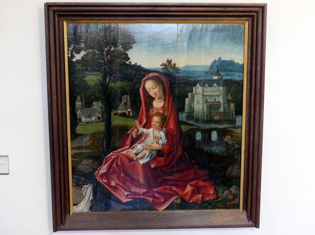 Maria mit Kind in einer Landschaft, Um 1510 - 1520