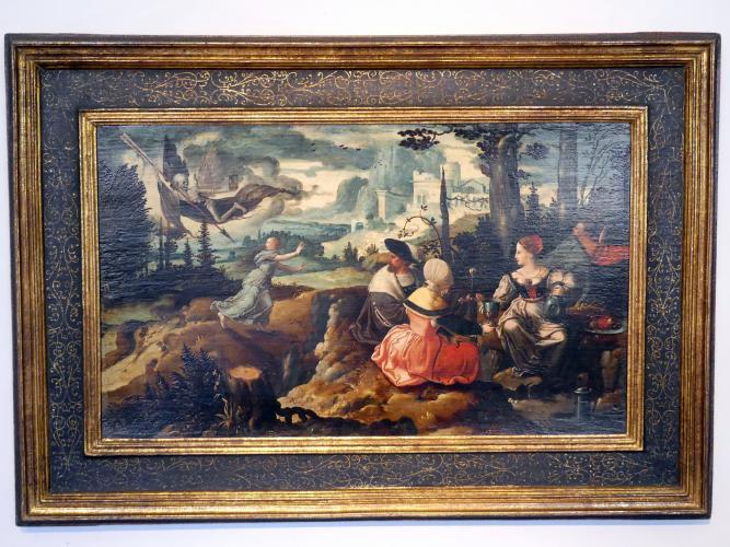 Jan Swart van Groningen: Triumph des Todes, um 1530