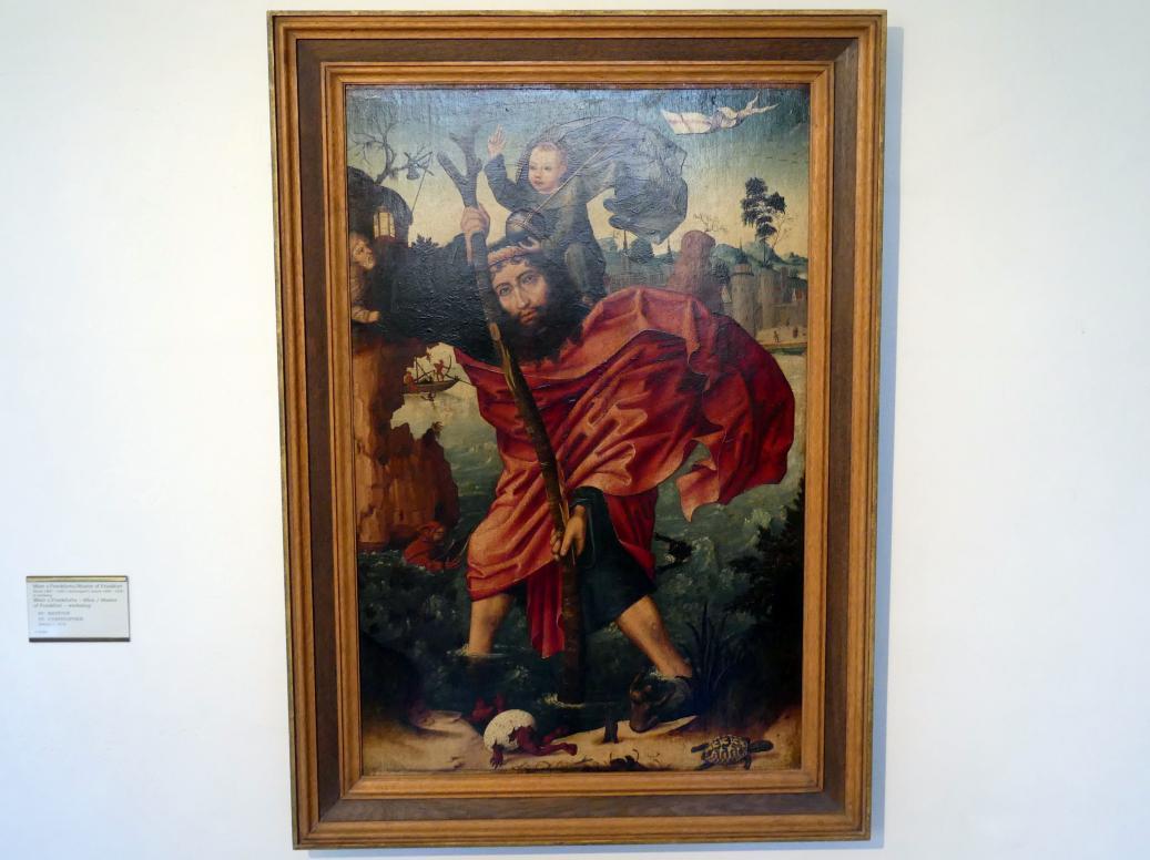 Meister von Frankfurt: Hl. Christophorus, um 1510, Bild 1/2