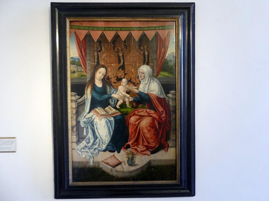 Bernard van Orley: Hl. Anna Selbdritt, 1510 - 1520
