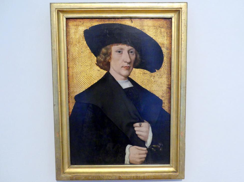 Portrait eines Mannes mit Nelke, Undatiert