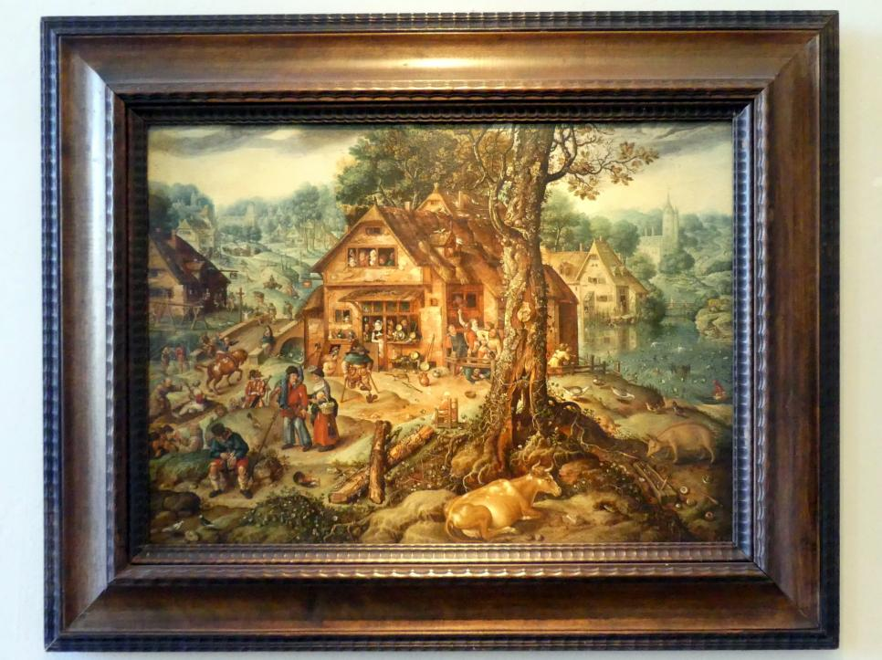 Hans Bol: Dorfszene, Undatiert