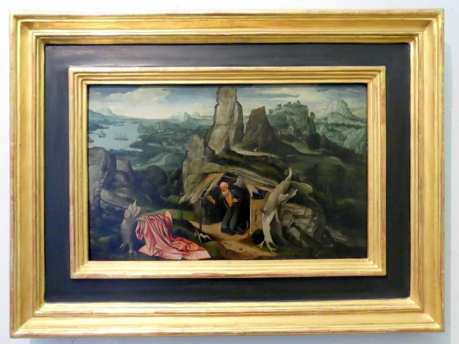 Joachim Patinir (Werkstatt): Der hl. Hieronymus in einer Landschaft, Undatiert