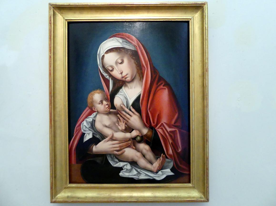 Pieter Coecke van Aelst: Maria das Kind stillend, Undatiert