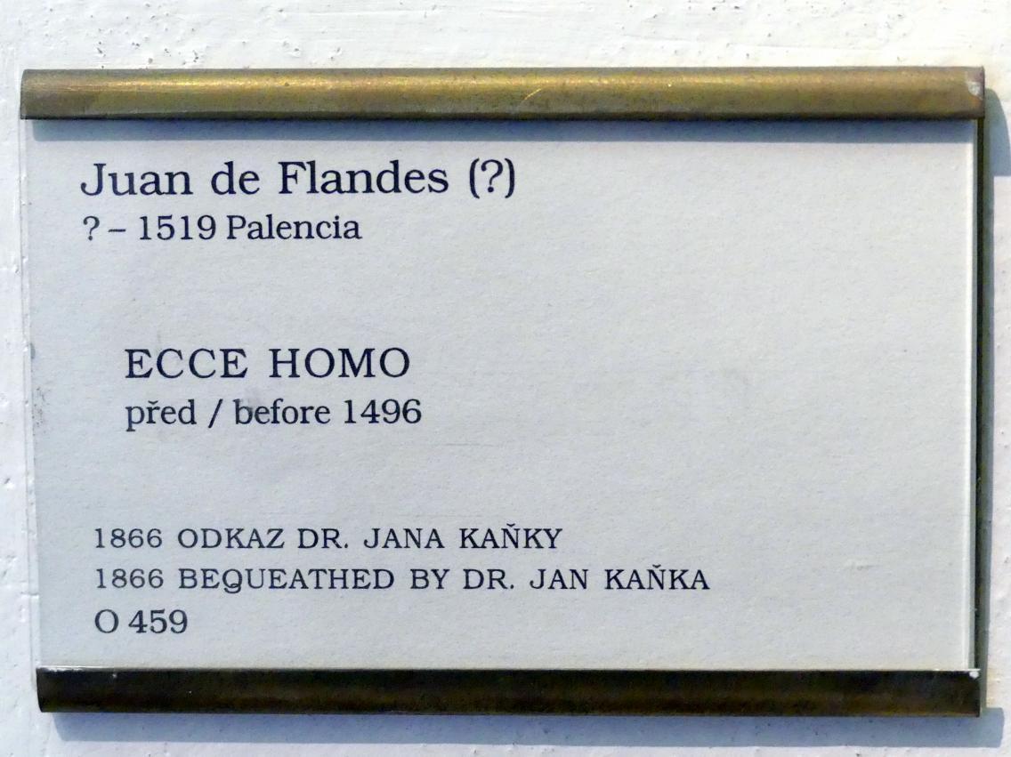 Juan de Flandes: Ecce Homo, vor 1496, Bild 2/2